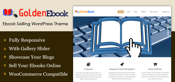 Ebook Selling WordPress Theme