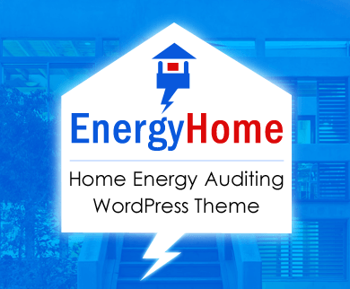 EnergyHome - Home Energy Auditing & Power Saving WordPress Theme