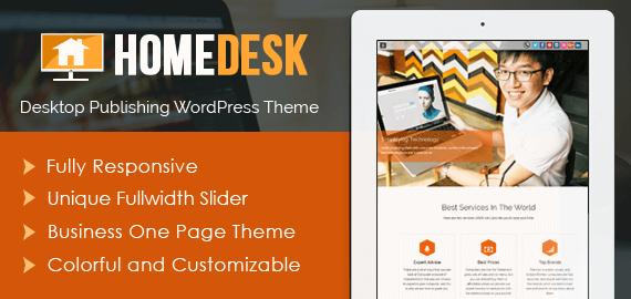 Desktop Publishing WordPress Theme