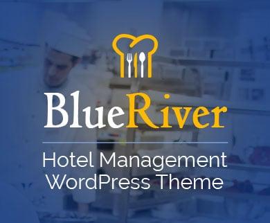 BlueRiver - Hotel Management WordPress Theme