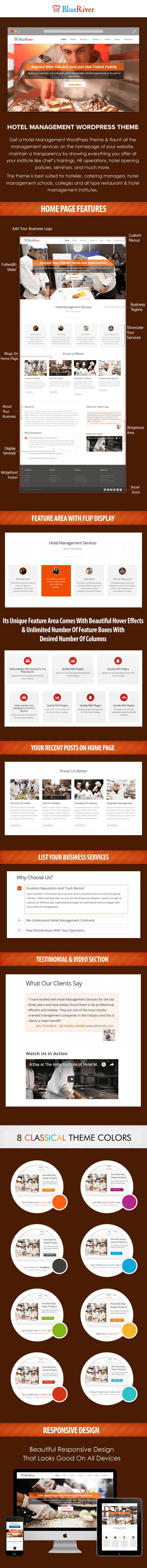 Hotel Management WordPress Theme