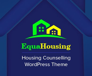 EquaHousing - Housing Counselling Service WordPress Theme