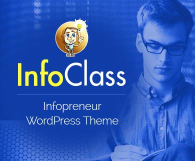InfoClass - Infopreneur WordPress Theme