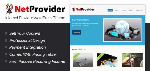 Internet & Broadband Service Provider WordPress Theme   InkThemes