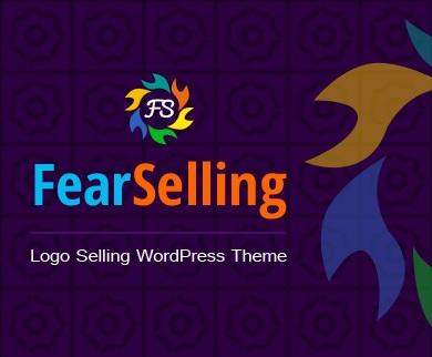 FearSelling - Logo Selling WordPress Theme