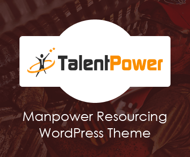TalentPower - Manpower Resourcing WordPress Theme