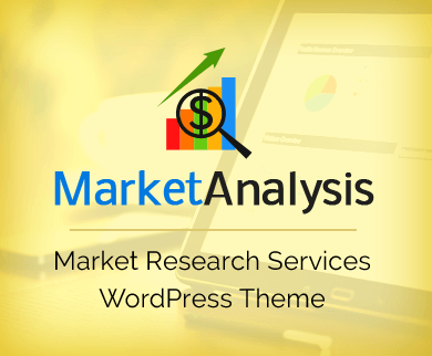 MarketAnalysis - Market Research Services WordPress Theme