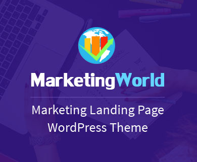 MarketingWorld - Marketing & Branding Agency WordPress Theme