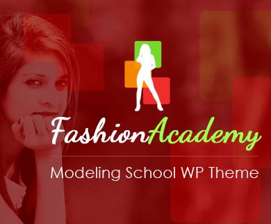 FashionAcademy - Modeling School WordPress Theme