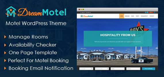 Motel WordPress Theme