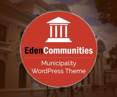 EdenCommunities - Municipality WordPress Theme