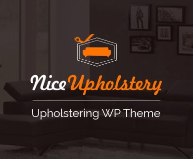 NiceUpholstery - Upholstering WordPress Theme