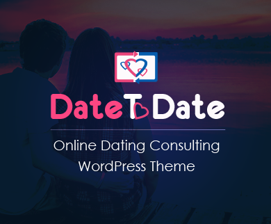 DateToDate - Online Dating Consulting WordPress Theme