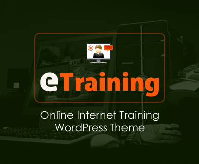 eTraining - Online Internet Training WordPress Theme