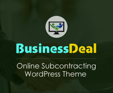 Business Deal - Online Subcontracting WordPress Theme