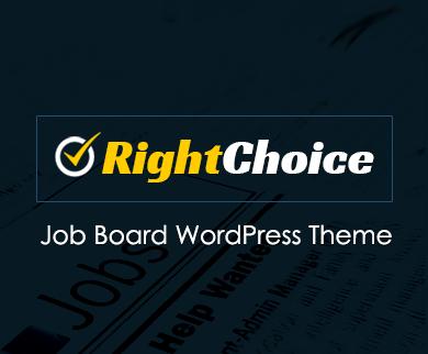 RightChoice - Job Board Directory WordPress Theme