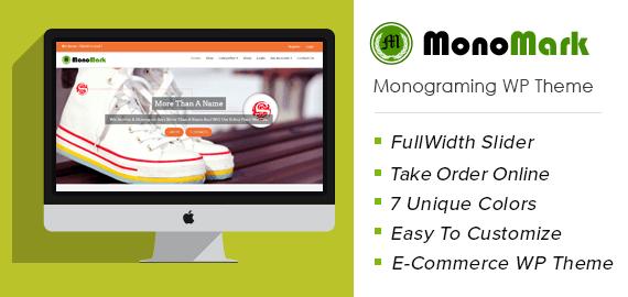 Monogramming WordPress Theme