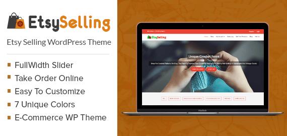 Etsy Selling WordPress Theme