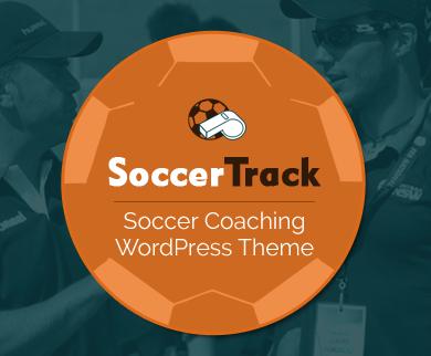 SoccerTrack - Soccer Coaching Academy WordPress Theme
