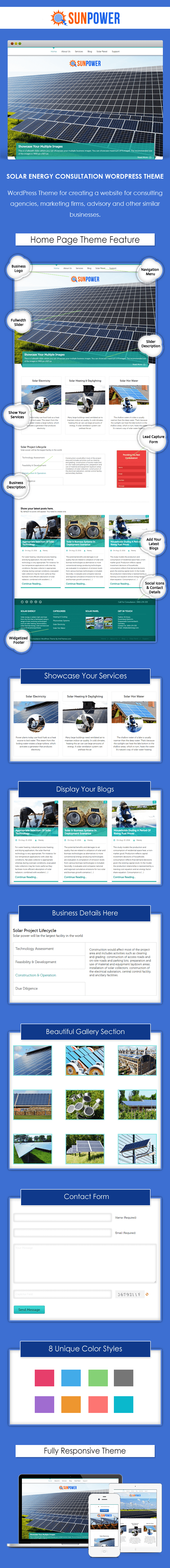 Solar Energy Consultation WP Theme
