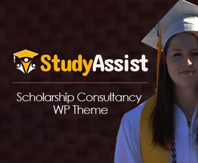 StudyAssist - Scholarship & Financial Aid Consultancy WordPress Theme
