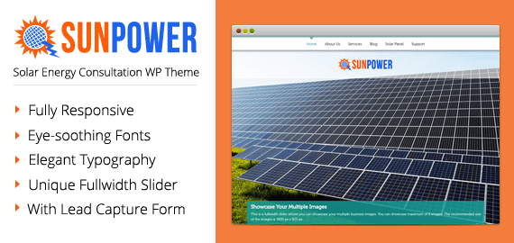 Solar Energy Consultation WordPress Theme