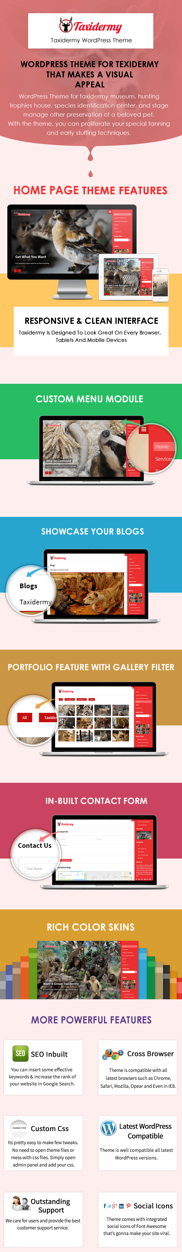 Taxidermy WP Theme