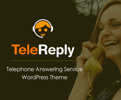 TeleReply - Telephone Answering Service WordPress Theme