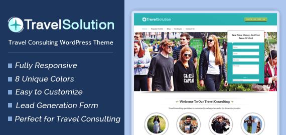 Travel Consulting WordPress Theme