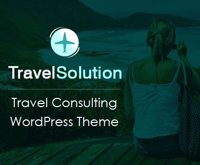 TravelSolution - Travel & Tour Consulting Agency WordPress Theme