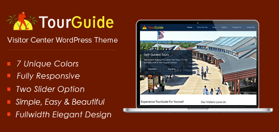 Visitor Center WordPress Theme
