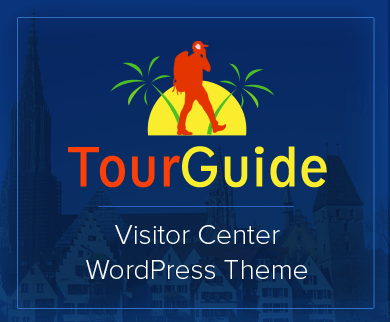 TourGuide - Visitor Center WordPress Theme