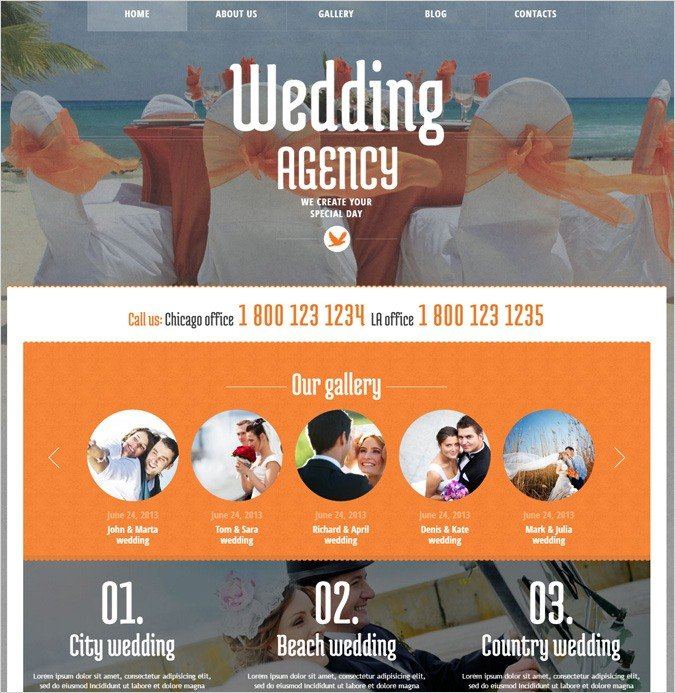 Wedding Agency WordPress