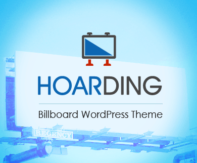 Hoarding - Billboard WordPress Theme