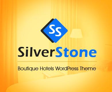 SilverStone - Boutique Hotels WordPress Theme