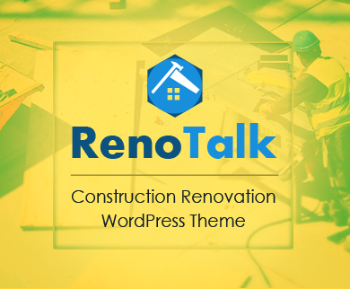 RenoTalk - Construction Renovation WordPress Theme