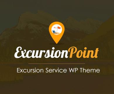 ExcursionPoint - Excursion Service WordPress Theme