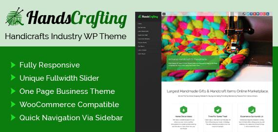 Handicrafts Industry eCommerce WordPress Theme