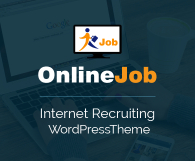 OnlineJob - Internet Recruiting WordPress Theme