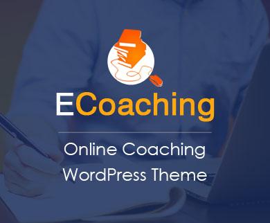 ECoaching - Online Coaching WordPress Theme