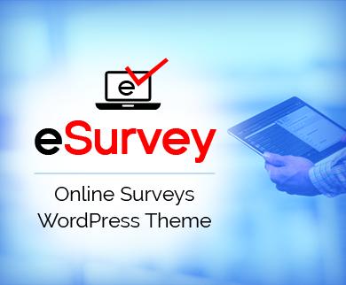 eSurvey - Online Surveys WordPress Theme