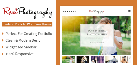 Real Photography – Classic Photography WordPress Theme