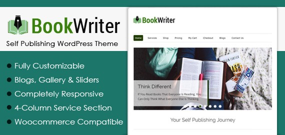 Self Publishing WordPress Theme