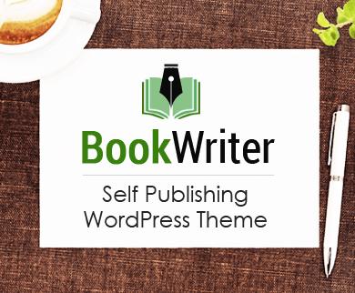 BookWriter - Self Publishing WordPress Theme
