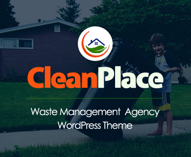 CleanPlace - Waste Management Agency WordPress Theme