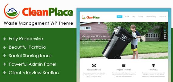 Waste Management Agency WordPress Theme