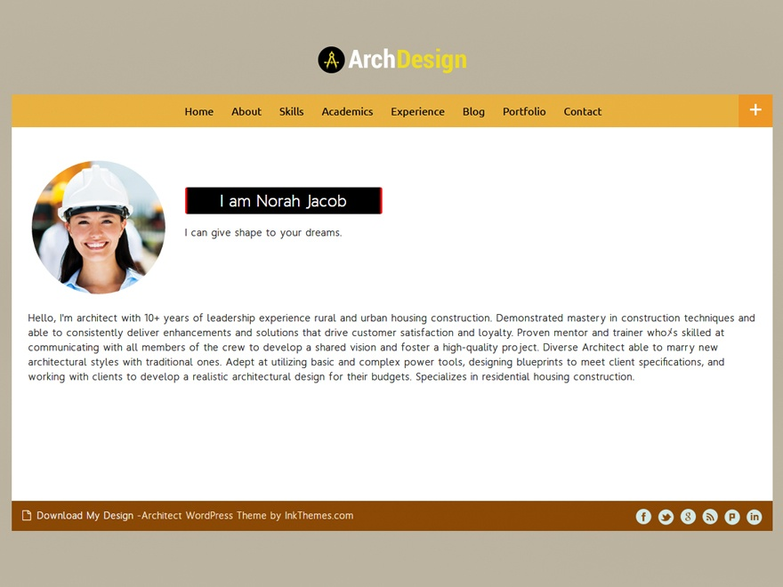 ArchDesign Best Architect WordPress Theme