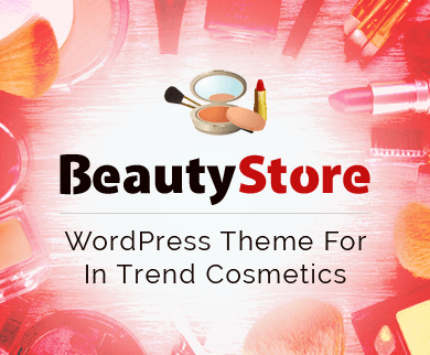 BeautyStore - In Trend Cosmetics WordPress Theme