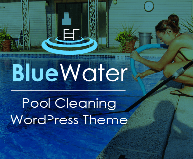 BlueWater - Pool Cleaning & Maintenance WordPress Theme