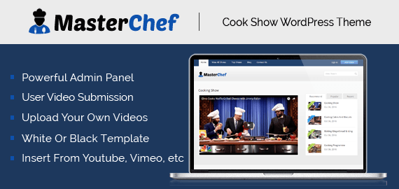 Cook Show WordPress Theme